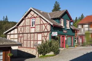 Vorderansicht Haus Brockenhexe